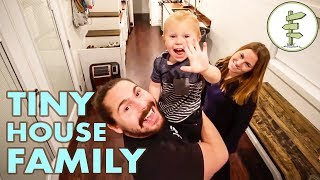 Family of 3 Builds Tiny House to Avoid Crazy Rent Prices in California