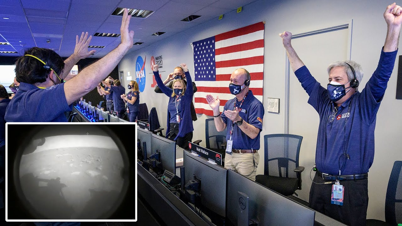 Touchdown confirmed! Watch NASA Perseverance Rover land on Mars (with first image)