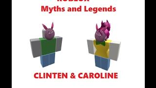 CAROLlNE & CLlNTEN | ROBLOX Myths and Legends season 2 part 2
