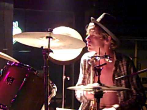 Caleb Walker on drums
