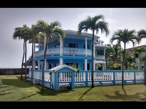 Venta de hermosa casa frente al mar en omoa youtube for Casas modernas junto al mar