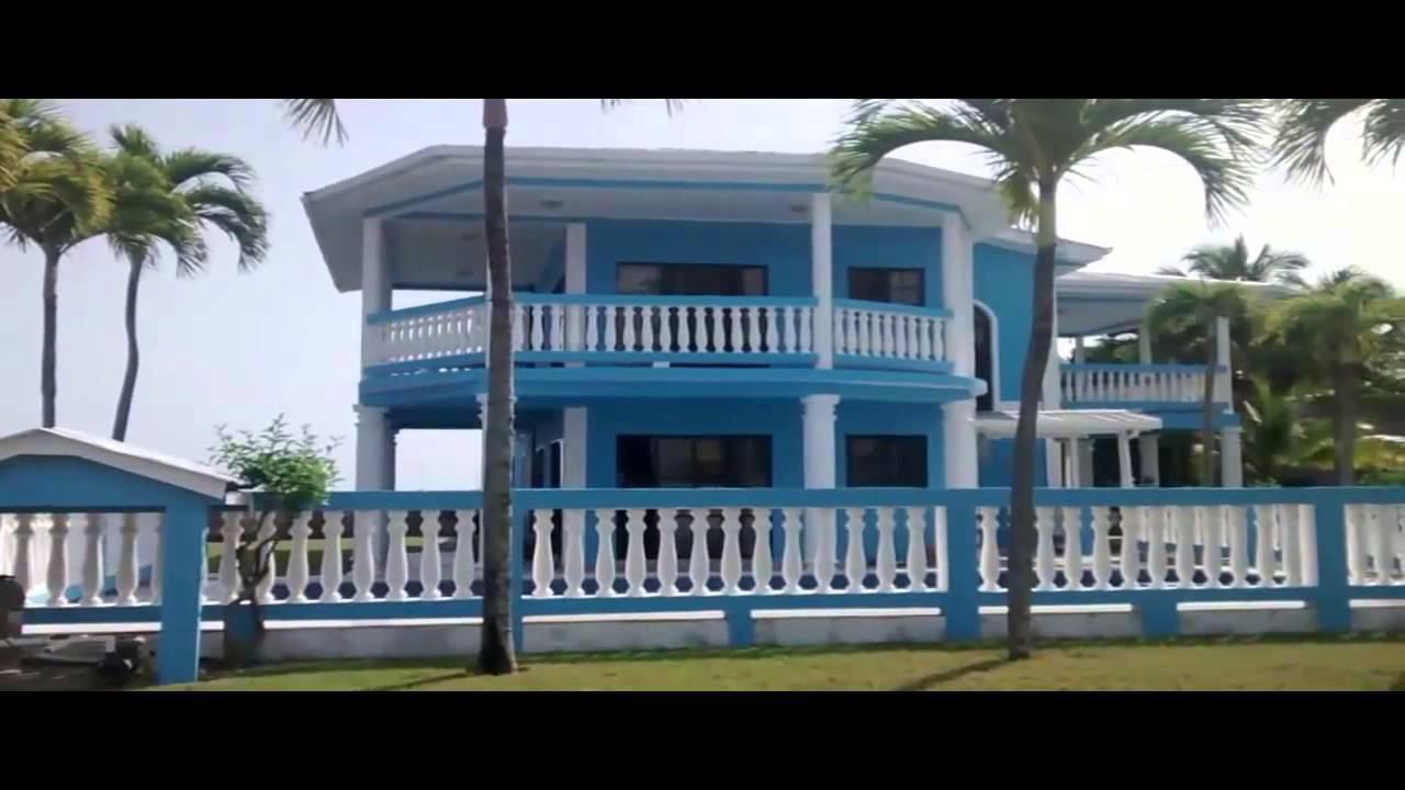 Venta de hermosa casa frente al mar en omoa youtube for Casa moderna frente al mar
