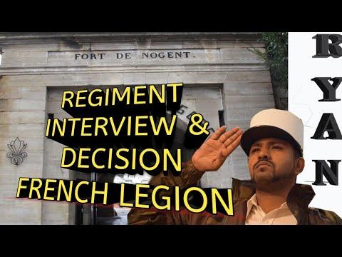 REGIMENT  & DECISION FRENCH FOREIGN LEGION