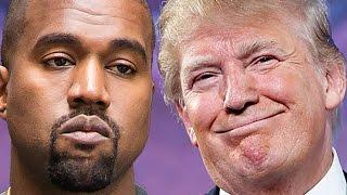 Kanye West Defends Donald Trump At Concert & Gets Booed - VIDEO