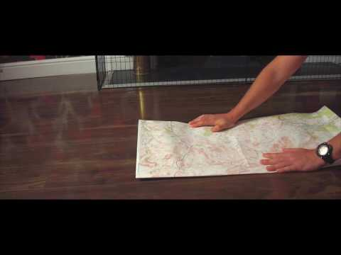 Ordnance Survey 1:50000 Map Folding Tutorial