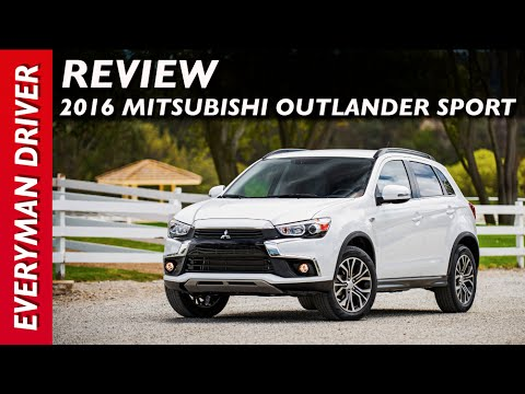 review 2016 mitsubishi outlander sport on everyman driver