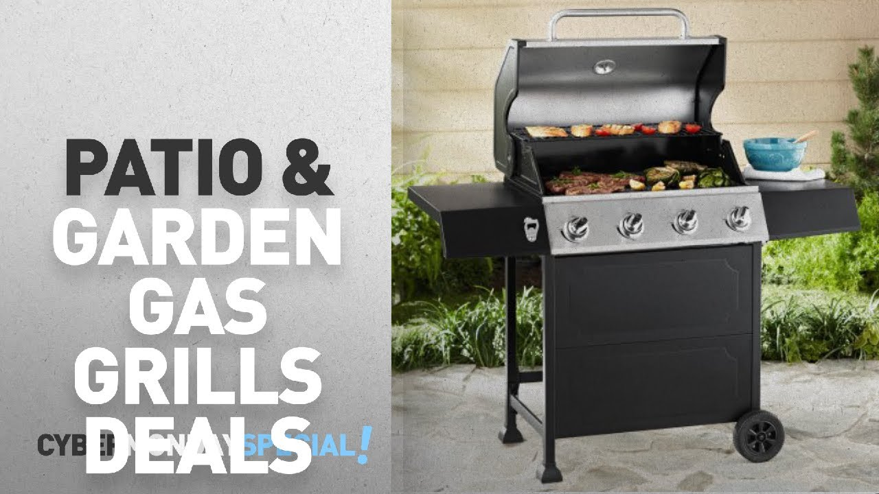 Walmart Top Cyber Monday Patio U0026 Garden Gas Grills Deals: Expert Grill  4 Burner Gas Grill