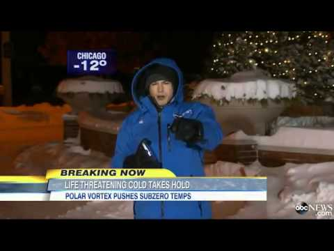 Extreme Winter Weather: Record Deep Freeze Covers Half The U.S