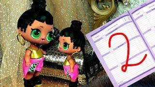 Мама в шоке! У куклы лол сюрприз два за поведение в школе! Мультик про школу с игрушками LOL dolls