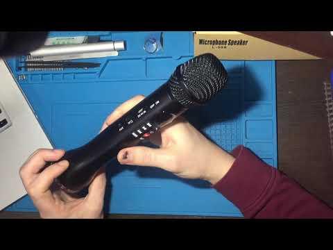 Обзор крутого караоке микрофона L-598