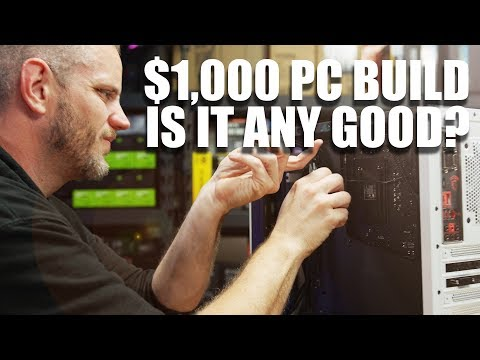 $1,000 Budget Gaming PC... is it worth building a PC yet?