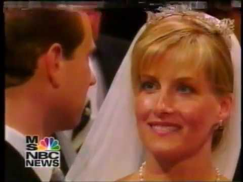 MSNBC Coverage 6/19/99 - Royal Wedding of Prince Edward, Earl of Wessex and Sophie Rhys-Jones