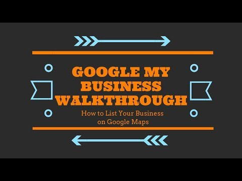 How To Put Your Business On Google Maps Tutorial thumbnail