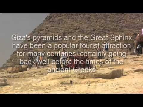 The Ancient Wonders and Pyramids at Cairo, Egypt