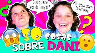 ¡¡30 COSAS sobre mi!! 😍 ¡Todo sobre DANIELA HAACK! 😱 Conoce mejor a DANI de The Crazy Haacks❗️