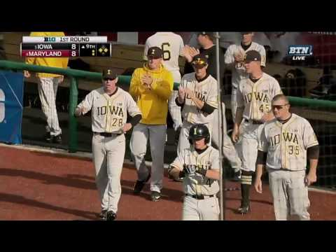 Tyler Cropley Tags and Scores vs. Maryland