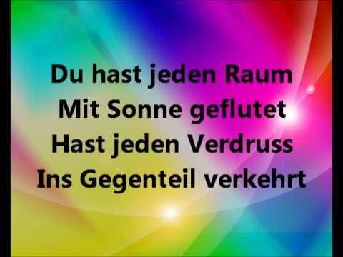 Herbert Grönemeyer - Der Weg ( Lyrics/Songtext)