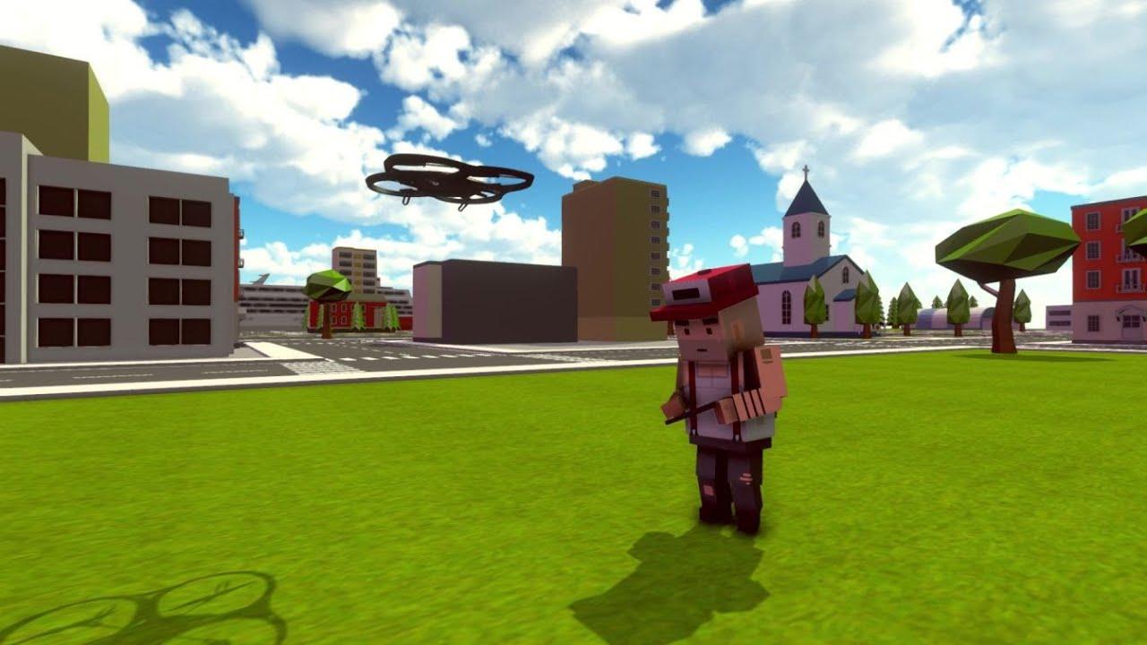 Simple sandbox 2 Drone concept animation | Future Update concept| Simple Sandbox 2