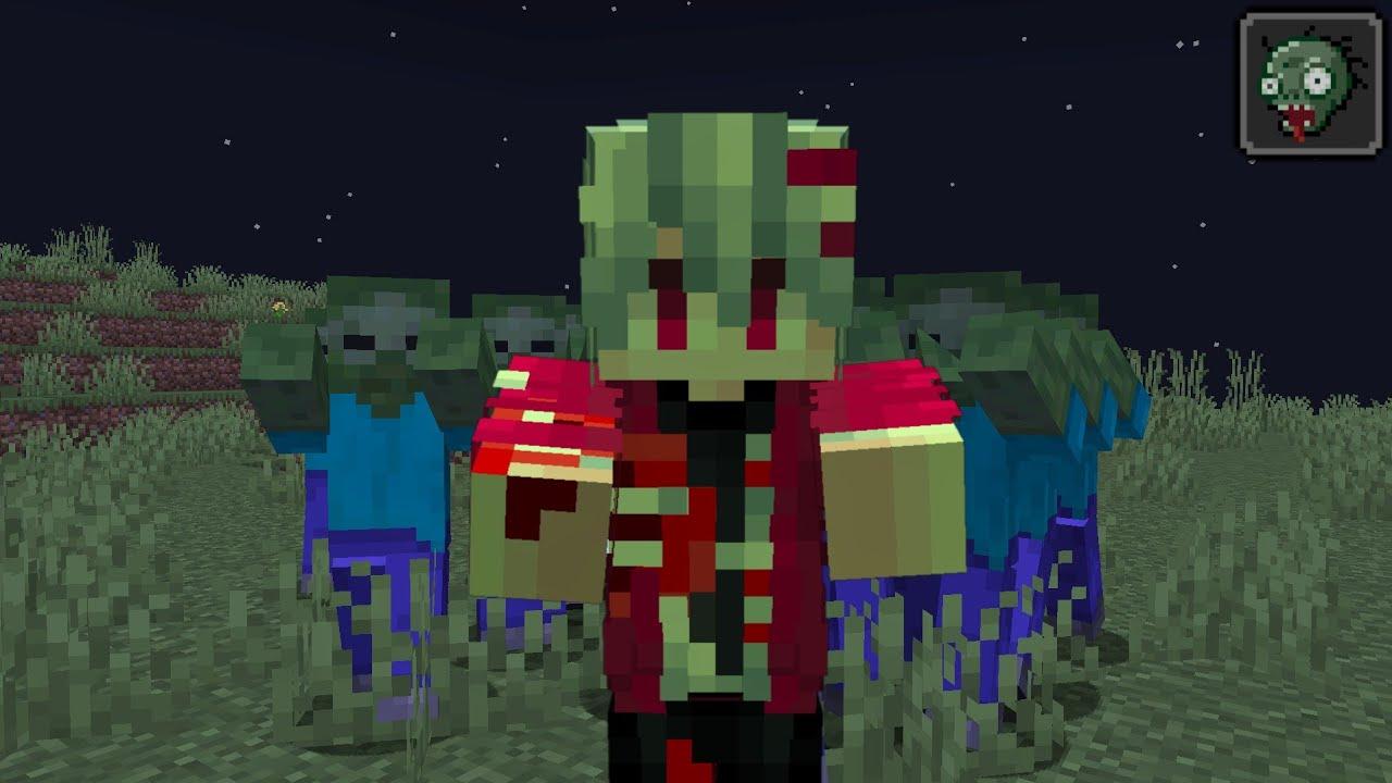 เมื่อติดเชื้อซอมบี้!! ถูกเพิ่มเข้ามาในเกม    Minecraft Mod