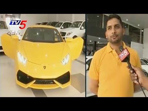 S K Car Lounge at Gachibowli, Hyderabad | కొత్త కార్ల కంటే పాత కార్లకే డిమాండ్ | TV5 News