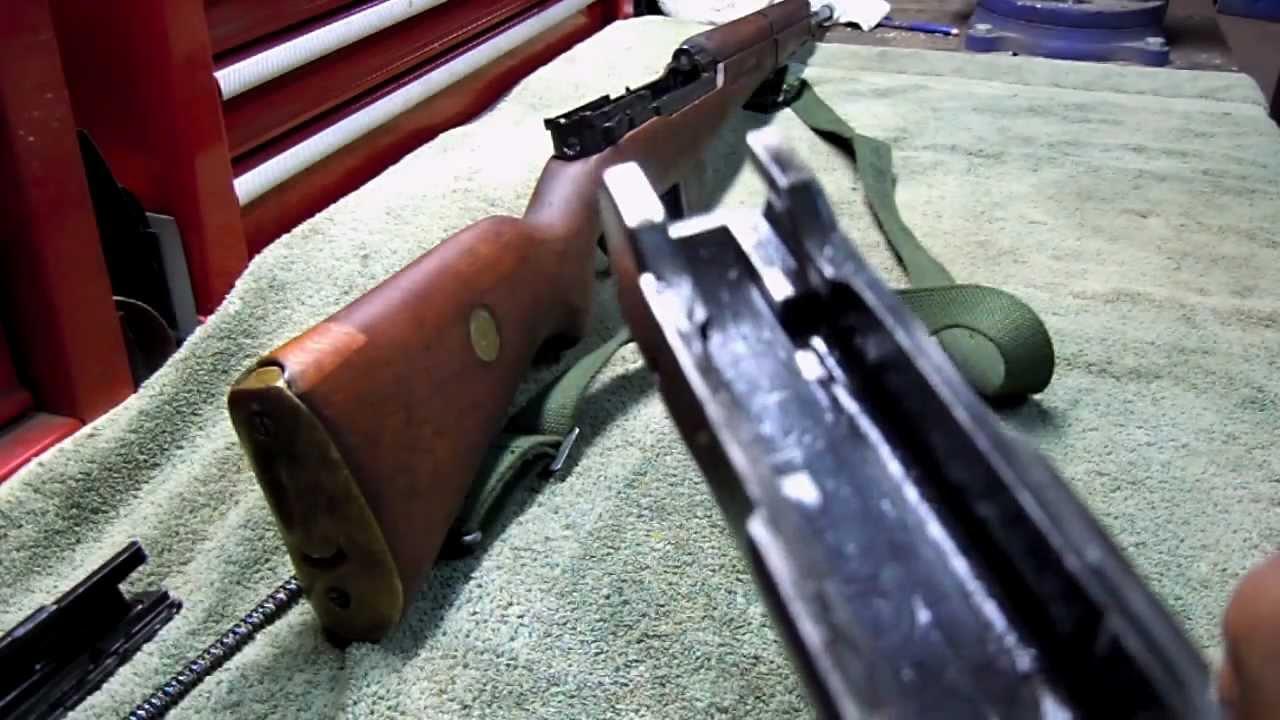 FN49 8mm Mauser Field strip - YouTube