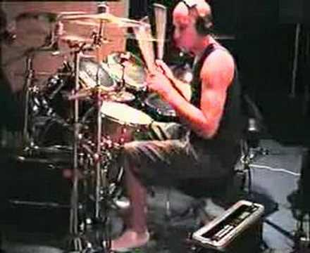 BETRAYED BY MANY Ade Stokes - SUICIDE WATCH rehearsals - thrash metal double bass drumming