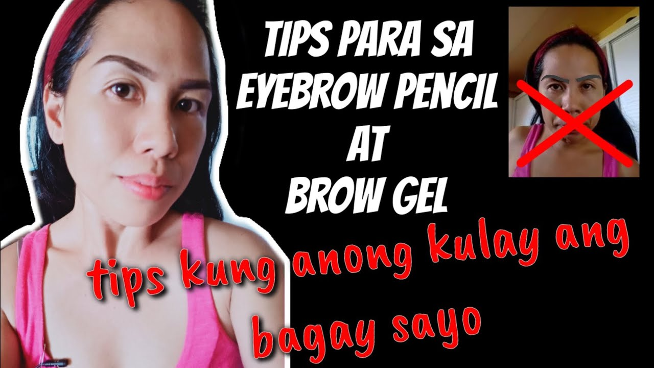 Tips on how to use pencil or brow gel for beginners ( how ...