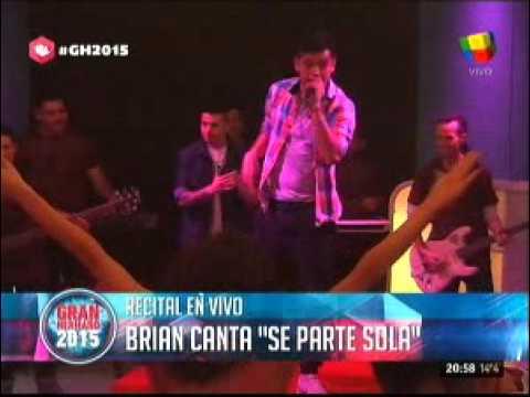 """#GH2015: Brian y su banda tocaron para los """"hermanitos"""""""