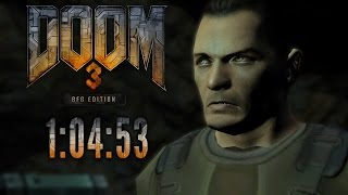 Doom 3 BFG Speedrun in 1:04:53