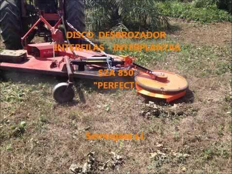 Disco desbrozador interfila interplanta perfect sza - Desbrozadora de disco ...