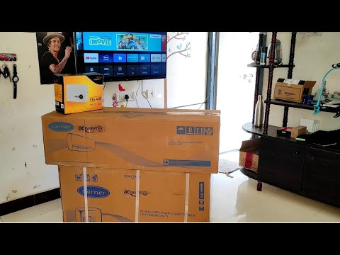 Carrier 1.5 Ton 3 Star Split Inverter AC Unboxing and Installation 2020 | Joe Renish Vlogs