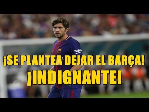 PAULINHO FICHADO Y SERGI ROBERTO... ¡SE PLANTEA DEJAR EL BARÇA!