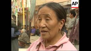 INDIA: LIFE FOR TIBETAN COMMUNITY IN SUBURB OF NEW DELHI