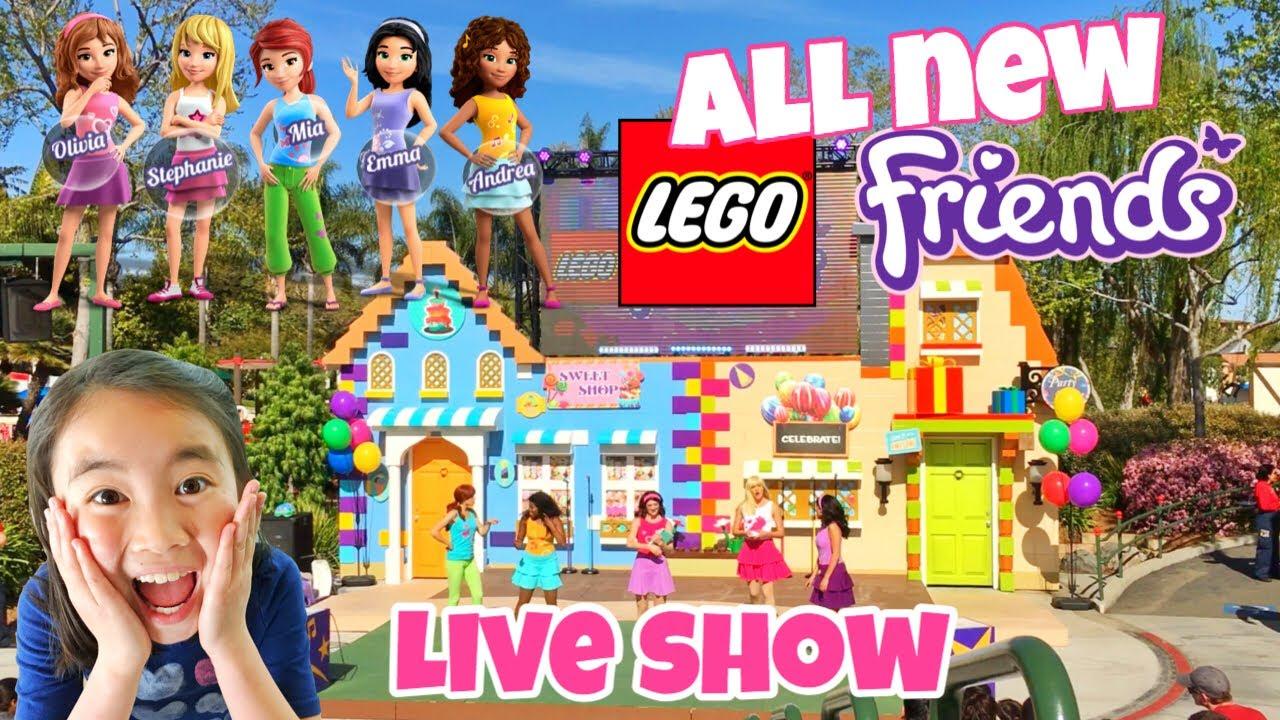 ✨ Lego Friends ✨ Live Show 2019 | Legoland California | Brand New Stage
