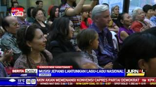 Kala Musisi Jepang Lantunkan Lagu Nasional Indonesia