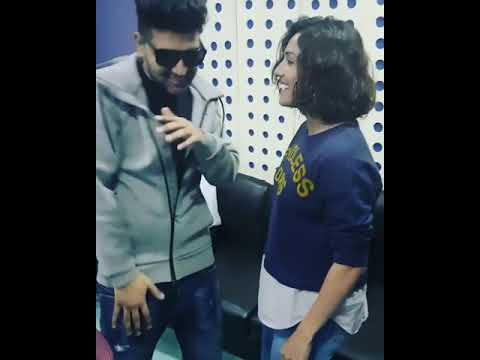 Guru Randhawa and Neeti Mohan thanking fan's for - Nachle Na