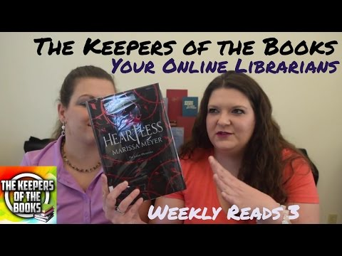 Weekly Reads 3   The Keepers of the Books