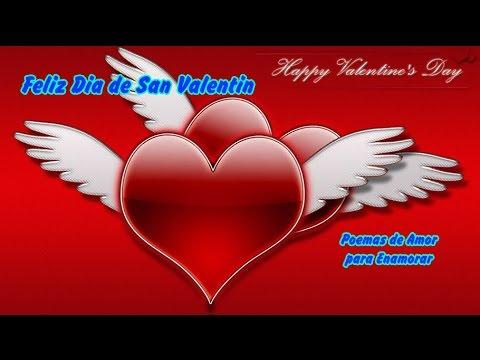Poemas de Amor para Enamorar Feliz Dia de San Valentin  YouTube