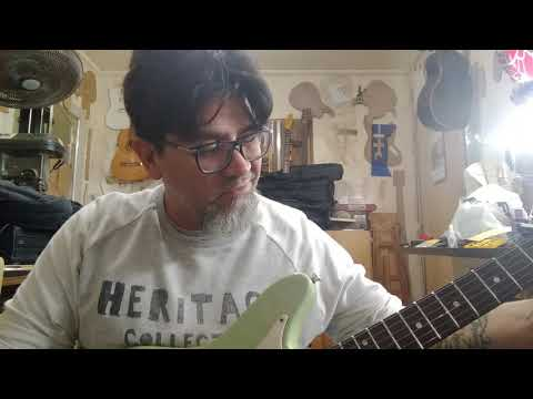 Papo Do Luthier - 4 Hands Luthieria - Guitarra - Giannini - Supersonic - Akira Fukai - 06.07.2019