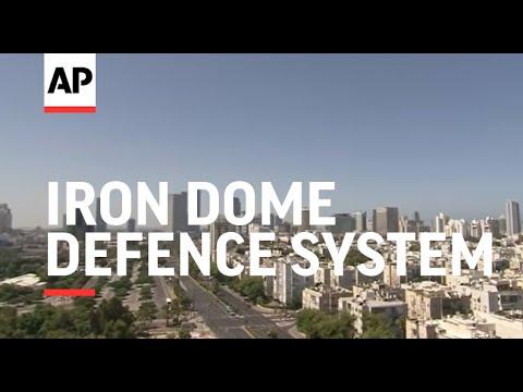 Air raid sirens wail as Iron Dome defence system intercepts rockets