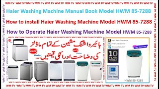 Haier Fully Automatic Model HW…
