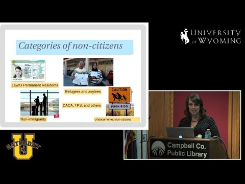 Suzan M. Pritchett at Saturday U: Exploring Contemporary Immigration Issues in Wyoming