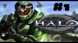 Halo Combat Evolved Playthrough, Part 1 The Pillar of Autumn