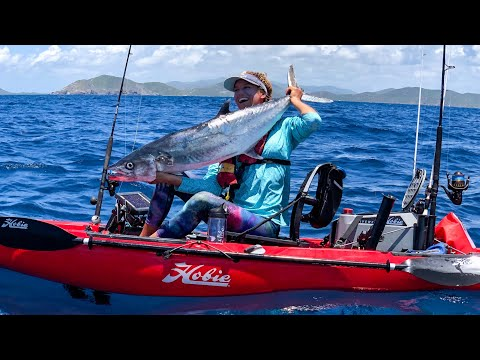 HOLD My Ankles | Kayak Fishing In The British Virgin Islands