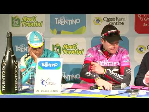 Giro del Trentino 2014: Landa and Evans' press conference after the final stage
