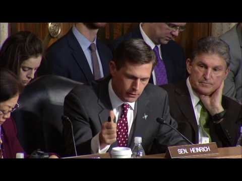 Heinrich Questions Energy Secretary Nominee Perry On NNSA Leadership Vacancy And Climate Change