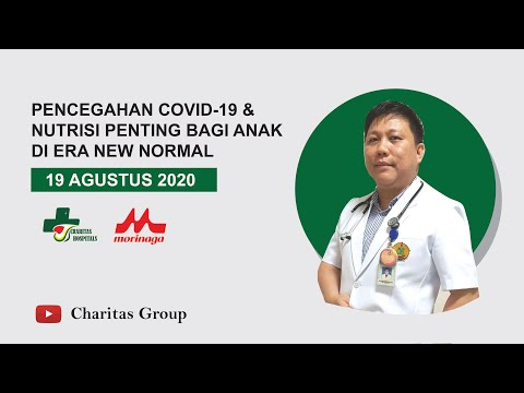 Health Talk : Pencegahan Covid-19 & Nutrisi Penting Bagi Anak di Era New Normal