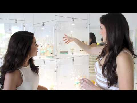 How to Stack Dainty Jewelry with Fashion Blogger Laura Lily (In The Industry)