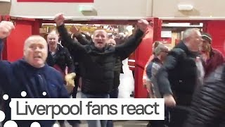 Liverpool Fans React to Beating Barcelona in Champions League
