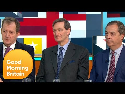 Nigel Farage and Alastair Campbell Clash in Heated Brexit Debate | Good Morning Britain